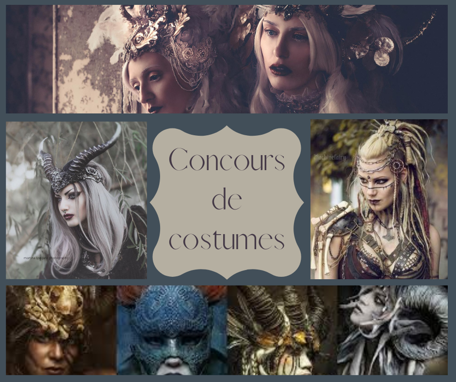 Visuel du concours de costume pour le festival des web séries fantastique